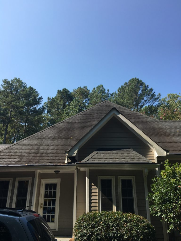 Roof Cleaning In Fayetteville Ga