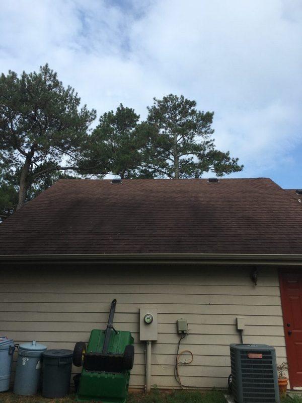 Roof Cleaning In Alpharetta Ga